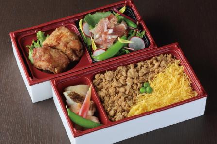 鶏めし旬菜弁当